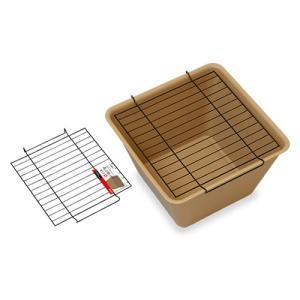 スドー 角小鉢のネット『メダカ 水槽 鉢 ネット』|aqua-legend