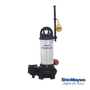 【送料無料】 新明和 水中ポンプ 自動排水スイッチ付 CRC50D-F50N 1.5KW/200V 汚水 清水 排水ポンプ  『水中ポンプ』|aqua-legend