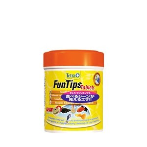 テトラ ファンチップス タブレット FunTips Tablets 165錠入 熱帯魚 エサ|aqua-legend