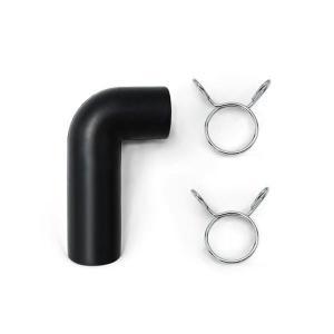 【定形外】 AirMac用 L字型 接続ゴムホース (金具付) 長さ73mm 長さ45mm 内径16mm 外径21mm aqua-legend