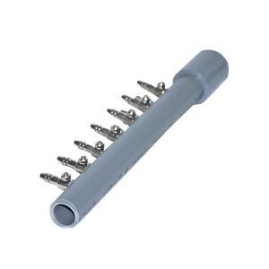 直列 7連 分岐管 VP13 塩化ビニールパイプ 一方コック付き キャップ付き 『分岐管』|aqua-legend