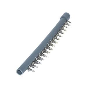 直列 15連 分岐管 VP13 塩化ビニールパイプ 一方コック付き キャップ付き 『分岐管』|aqua-legend