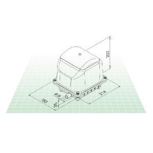 世晃 JDK-60 エアーポンプ 省エネ 浄化槽ブロワー 浄化槽エアーポンプ 浄化槽エアポンプ 浄化槽ブロアー エアポンプ ブロワー ブロワ ブロアー|aqua-legend|04