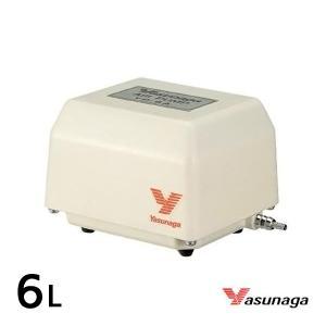安永 YP-6A  (風量 6L/min)  水槽用 エアーポンプ エアーポンプ 静音 省エネ 電池 電動ポンプ ブロワー ブロワ ブロアー aqua-legend