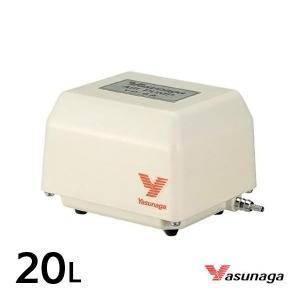 安永 YP-20A (風量20L/min)  水槽用 エアーポンプ エアーポンプ 静音 省エネ 電池 電動ポンプ ブロワー ブロワ ブロアー aqua-legend