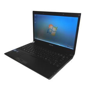 中古パソコン ノート Windows7 東芝 TOSHIBA dynabook Satellite R731/B Core i5-2520M 2.5GHz メモリ4GB HDD250GB DVDマルチ 13.3インチ WPS Office付き