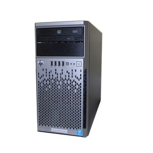 HP ProLiant ML310e Gen8 V2 722446-B21 Xeon E3-1220 V3 3.1GHz 8GB 300GB×1(SAS 3.5インチ) DVD-ROM AC*2 Smartアレイ P222