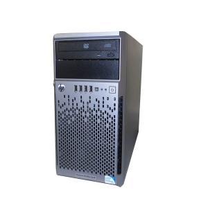 HP ProLiant ML310e Gen8 675240-B21 中古 Pentium G2120 3.1GHz 4GB 1TB×2 (SATA 3.5インチ) DVD-ROM Smartアレイ B120i aqua-light