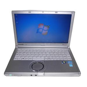 ACアダプタ欠品 中古ノートパソコン Windows7 Panasonic Let'sNote CF-NX1 Core i5-2540M 2.6GHz/2GB/250GB/光学ドライブなし/高解像度 HD+(1600×900)|aqua-light|02