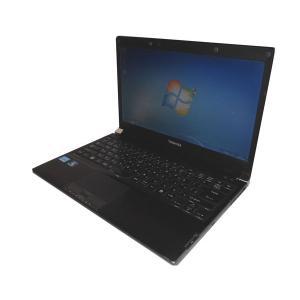 中古パソコン ノート Windows7 Pro 32bit 東芝 dynabook R731/C (PR731CEANRBC51) Core i3-2310M 2.1GHz/2GB/250GB/ DVDマルチ/13.3インチ|aqua-light
