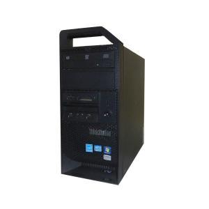 Windows7 Pro 64bit Lenovo ThinkStation E31 2555-55J Xeon E3-1240 V2 3.4GHz 8GB 500GB DVDマルチ Quadro 600 中古ワークステーション|aqua-light