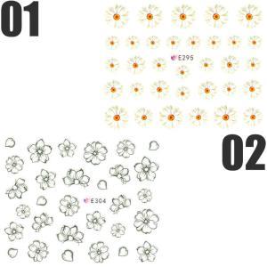ネイルシール 花 フラワー 選べる10種類|aqua-nail