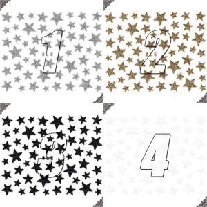 ネイルシール ラメ スター 星形 選べる10種類|aqua-nail