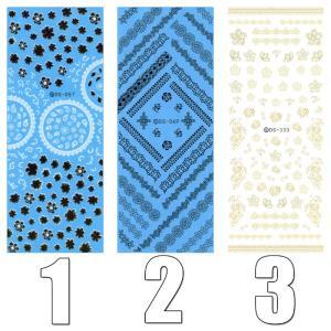 ウォーターネイルシール デザイン ワンポイント 選べる17種類♪極薄・重ね貼りOK|aqua-nail