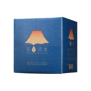 【世界遺産・富士山の水】富士清水 JAPANWATER 12.5L BIB(蛇口コックが付いた大容量パック)x2ケース|aquabar-style