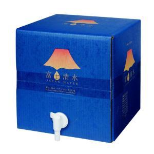 【世界遺産・富士山の水】富士清水 JAPANWATER 12.5L BIB(蛇口コックが付いた大容量パック)x2ケース|aquabar-style|03