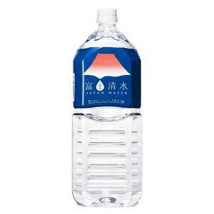【世界遺産・富士山の水!】富士清水 JAPANWATER 2000mlx6本x2ケース|aquabar-style