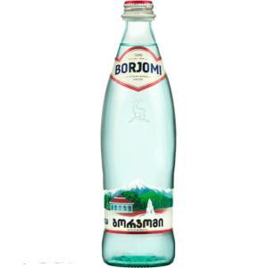 【長寿大国 グルジア産の天然微炭酸水!】BORJOMI/ボルジョミ 微炭酸 330ml瓶×12本×2ケース|aquabar-style