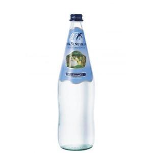 【3ケースセット】珍しい瓶入り!San Benedetto(サンベネデット) ナチュラルスパークリング(炭酸入り)ミネラルウォーター 1.0L×12本×3ケース |aquabar-style