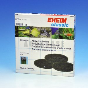 エーハイム 2215用 活性炭フィルターパッド 【EL00068】|aquabase