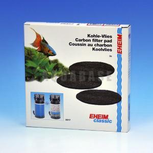 エーハイム 2217用 活性炭フィルターパッド 【EL00071】|aquabase