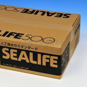 マリンテック シーライフ 人工海水 500L 箱入|aquabase