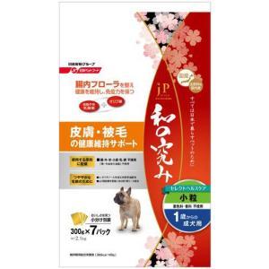ジェーピースタイル 和の究み セレクトヘルスケア 皮膚被毛の健康維持サポート 1歳からの成犬用 2.1kg 【月間特売】|aquabase