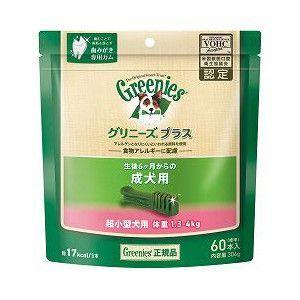 ニュートロジャパン グリニーズプラス 1.3〜4kg 超小型犬 成犬用 60本入り|aquabase