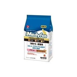メディファス 成猫用 チキン味 1.5kg|aquabase