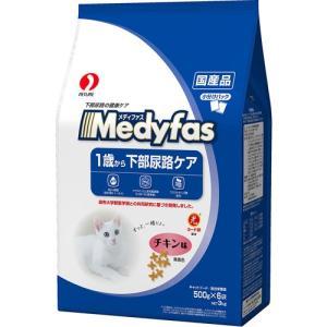 メディファス 1歳から 下部尿路ケア チキン味 3kg|aquabase