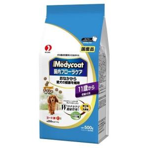 ペットライン メディコート 腸内フローラケア 11歳から 老齢犬用 500g