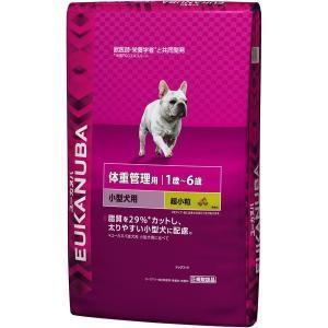 ユーカヌバ 体重管理 1〜6歳用 小型犬用 6kg 【特売】|aquabase