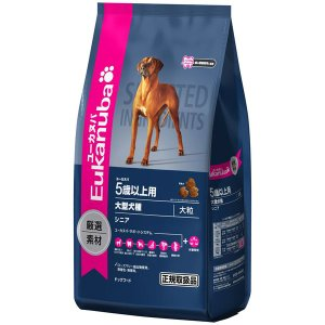 ユーカヌバ シニア 5歳以上用 大型犬種 13.5kg|aquabase