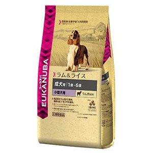 ユーカヌバ 成犬用 ラム&ライス 健康維持用 超小粒 800g|aquabase