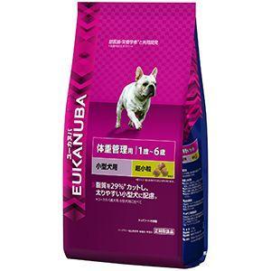 ユーカヌバ 体重管理用 1歳〜6歳 小型犬用 2.7kg|aquabase