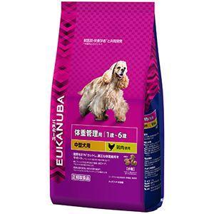 ユーカヌバ 体重管理用 1歳〜6歳 中型犬用 2.7kg 【特売】|aquabase