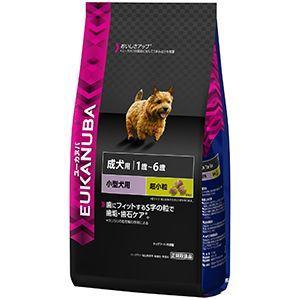 ユーカヌバ 成犬用 1歳〜6歳 小型犬用 健康維持用(メンテナンス) 2.7kg|aquabase