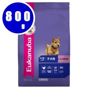 ユーカヌバ Eukanuba スモール パピー 子犬用 小・中型犬用 〜12ヶ月まで 800g|aquabase