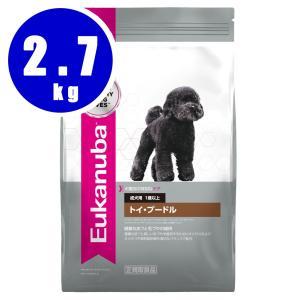 ユーカヌバ Eukanuba トイ・プードル 成犬用 1歳以上 2.7kg|aquabase