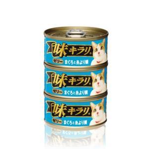 ネスレ 味キラリ ゼリーまぐろと糸より鯛 80g 3缶パック|aquabase