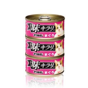 ネスレ 味キラリ かつおだし まぐろ 80g 3缶パック|aquabase