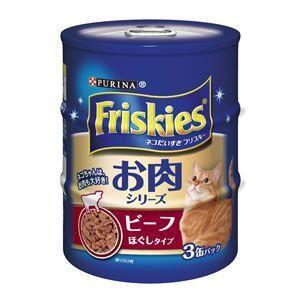 フリスキー 缶 ビーフほぐしタイプ 155g×3缶|aquabase