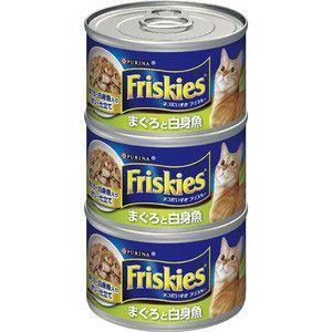 フリスキー トール缶 青 まぐろと白身魚 155gx3缶|aquabase