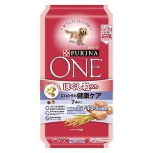 ピュリナワン ドッグ ほぐし粒入り 7歳以上 これからも健康ケア チキン 4.2kg|aquabase