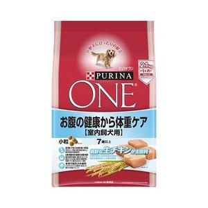ピュリナワン ドッグ 7歳以上 室内飼犬用 お腹の健康から 体重ケア 小粒 チキン 2.1kg|aquabase