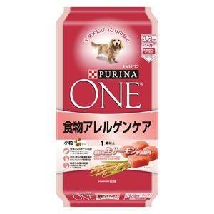 ピュリナワン ドッグ 1歳以上 食物アレルゲンケア 小粒 サーモン 4.2kg|aquabase