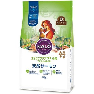 HALO ハロー エイジングケア7+ 小粒 7才以上の成犬用 天然サーモン 1.8kg|aquabase