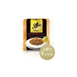 シーバ デュオ 鶏ささみ味と海のセレクション 240g 【特売】|aquabase