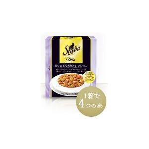 シーバ デュオ 香りのまぐろ味セレクション 240g 【特売】|aquabase