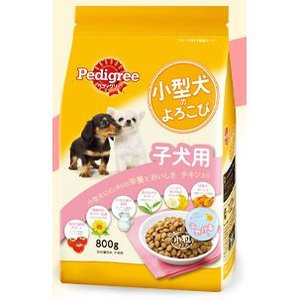 ペディグリー 小型犬のよろこび 子犬用 チキン入り 800g 【月間特売】|aquabase